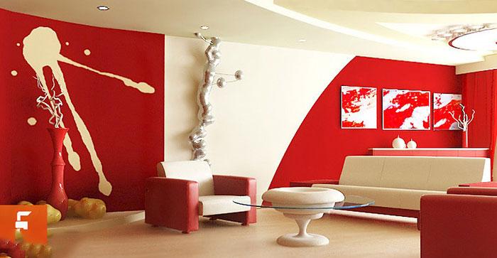 نقش رنگ در دکوراسیون داخلی منازل